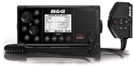 B&G V60-B VHF DSC AIS RX-TX Marifoon met AIS
