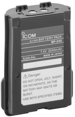 Li-Ion accu Icom M73