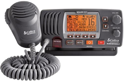 Cobra F77B GPS Atis/DSC marifoon