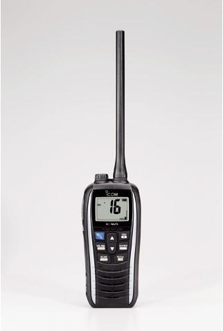 Icom M25 Handmarifoon - Pearl White - USB oplaadbaar
