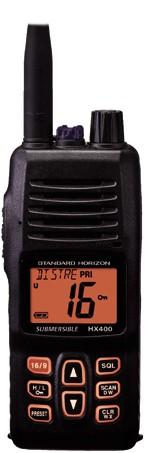 Standard Horizon HX-400E Handmarifoon