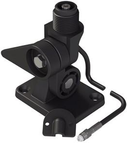 Pacific VHF/AIS kantelvoet met ingebouwde connector - dekmontage - kunststof