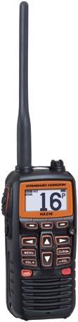 Standard Horizon HX-40E Handmarifoon - Drijvend- 6W - Luide audio-uitvoer