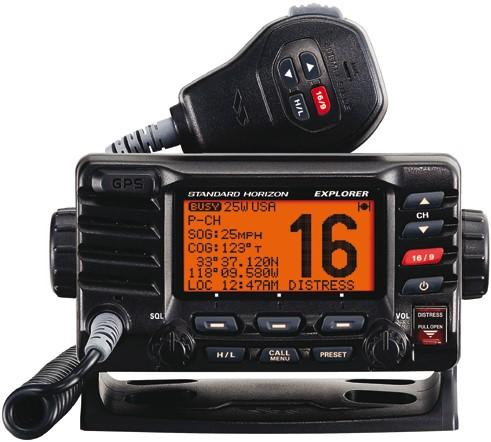 Standard Horizon GX1800 E DSC/GPS Marifoon