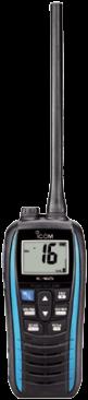 Icom M25 Handmarifoon - Marine Blue - USB oplaadbaar
