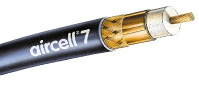 Coaxkabel Aircell 7 - 50 Ohm - 7,3 mm