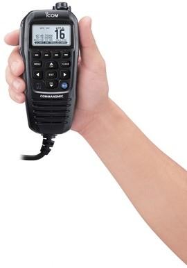 Icom HM229B Commandmic voor Icom M510E/M605E - ZWART