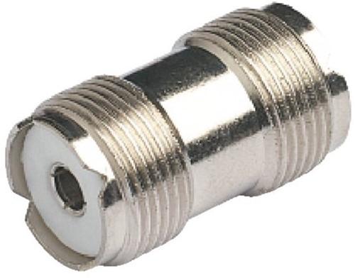 Coax koppelstuk, doorverbinding voor marifoon antennekabel  PL258