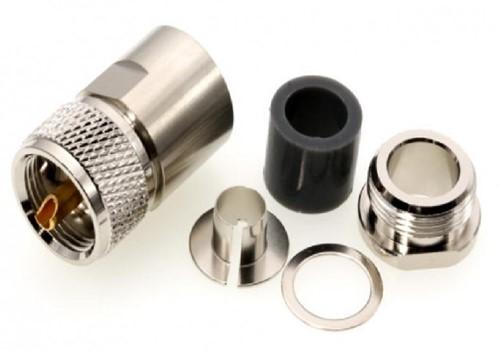 Coax plug UHF 10/11 MM